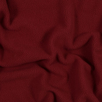 Merlot Heather Sherpa Fleece