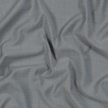 Light Gray Super 150 Wool Suiting
