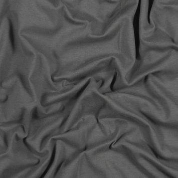 Gray Cotton Tubular Knit