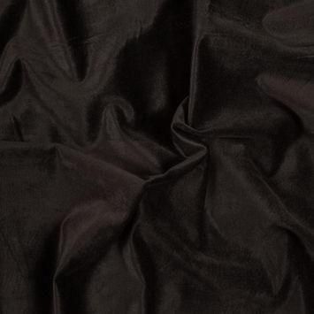Brown Stretch Cotton Velveteen