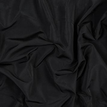 Black Polyester Taffeta