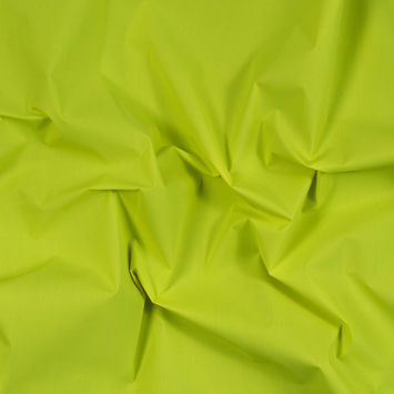 Neon Yellow Cotton-Backed Reflective Fabric