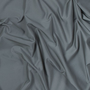 Silver on Black Fleece-Backed Reflective Fabric