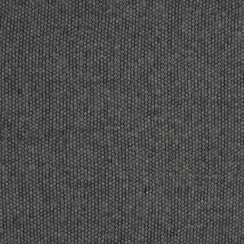 Gray Chunky Wool Knit with Brushed Back