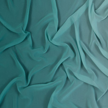 Forest Ombre Polyester Chiffon