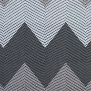 White, Gray and Beige Chevron Quilted Jacquard