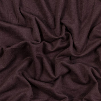 Antique Purple Stretch One Sided Fleece-Backed Knit