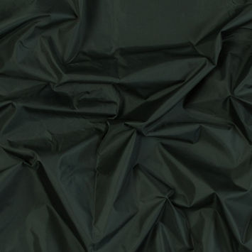 Forest Green Taffeta with Fused Heather Gray Knit Backing