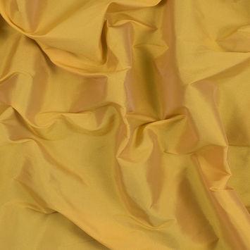 Spicy Mustard Plain Dyed Polyester Taffeta
