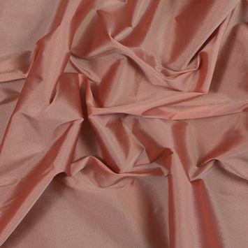Coral Almond Plain Dyed Polyester Taffeta