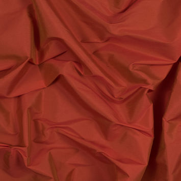Orange Plain Dyed Polyester Taffeta