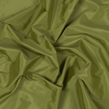 Grass Green Plain Dyed Polyester Taffeta