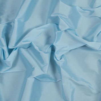 Pale Blue Plain Dyed Polyester Taffeta