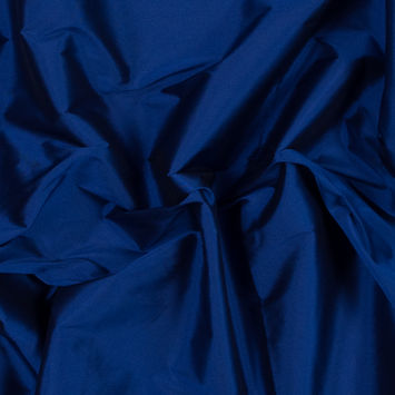 Royal Blue Plain Dyed Polyester Taffeta