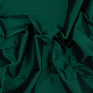 Emerald Plain Dyed Polyester Taffeta