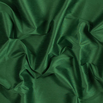 Kelly Green Polyester Shantung