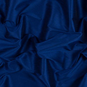 Royal Blue Polyester Shantung