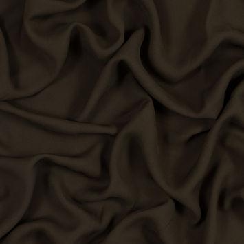 Olive Brown Rayon Crepe