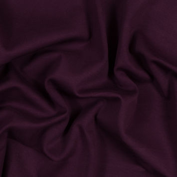 Italian Purple and Burnt Charcoal Double-Faced Double Knit