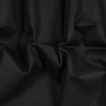 Black Brushed Cotton Duvetyne - 12 oz
