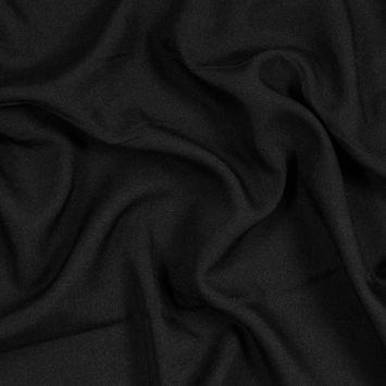 Black Polyester Poplin