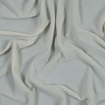 Vanilla Stretch Knit Pique