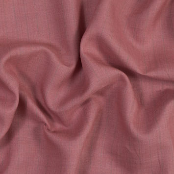 Pink and Green Pinstriped Linen Woven