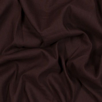Asturias Chocolate Stretch Linen Woven