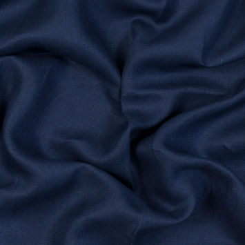 Newhaven Sapphire Herringbone Linen Woven