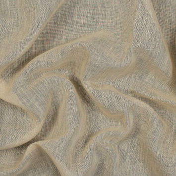 Corinth Parchment Linen Scrim