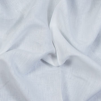 Wide Sierra White Linen Woven