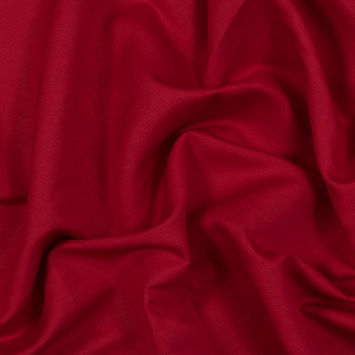 Tivoli Red Linen and Rayon Woven