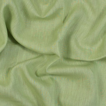 Sanremo Lime and Tan Two-Tone Linen Woven