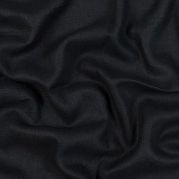 Black Linen Woven