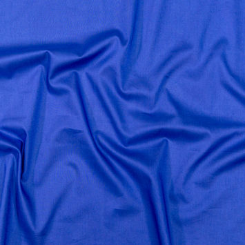 Toulouse Royal Blue Mercerized Cotton Voile