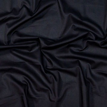 Toulouse Black Mercerized Cotton Voile
