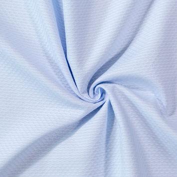 Maiori Baby Blue Bullseye Cotton Pique