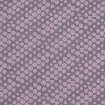 Pink Polka Dotted Burnout Voile