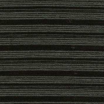 Italian Olive Striped Cotton Blended Tweed