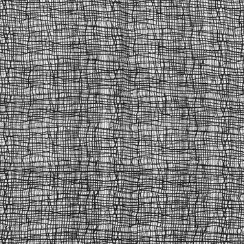 Oscar de la Renta Black Grid Lace