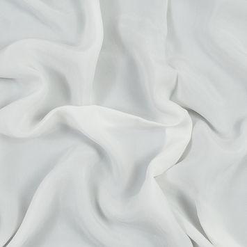 White Cupro Plain Dyed Certified Vegan Fabric
