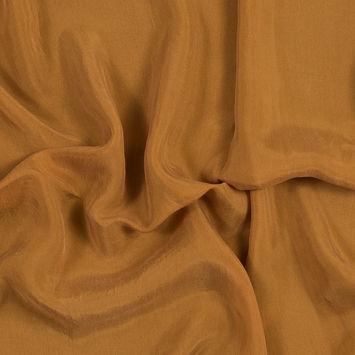 Butterscotch Cupro Plain Dyed Certified Vegan Fabric