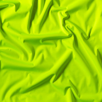 High Visibility Lime and Sand Cloud Double Faced High Tech Softshell Interlock Knit