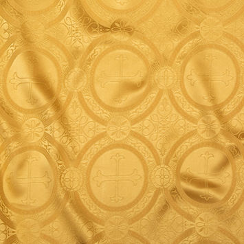 Antique Gold Ecclesiastical Jacquard
