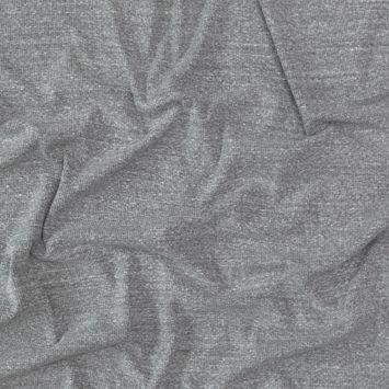 Theory Heathered Gray 2x2 Rib Knit