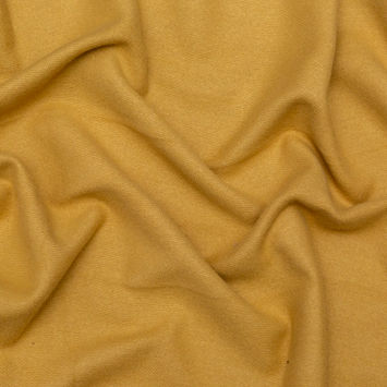 Golden Apricot Brushed Wool Coating
