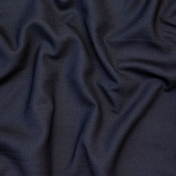 Black Wool Twill