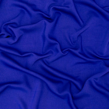 Royal Blue Stretch Wool Twill