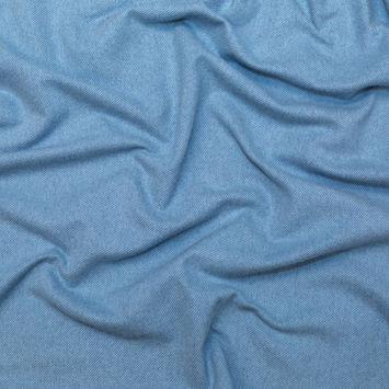 Little Boy Blue Brushed Wool Twill Coating