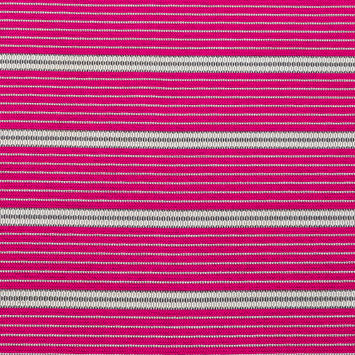 Raspberry Sorbet Striped Tweed